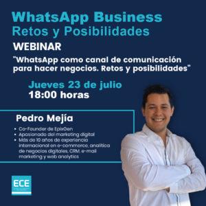 WhatsApp Business - Escuela de Comercio Electrónico